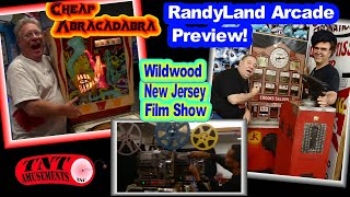 #1423 RANDYLAND ARCADE Preview-Gottlieb ABRACADABRA As-Is Pinball-Film Show in NJ-TNT Amusements