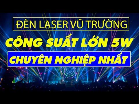Laser 5watt quét cho vũ trường - sản nhảy lớn