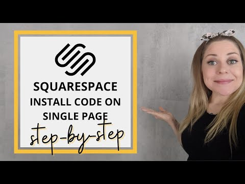 How To Install CSS on One Page // Squarspace CSS Tutorial thumbnail