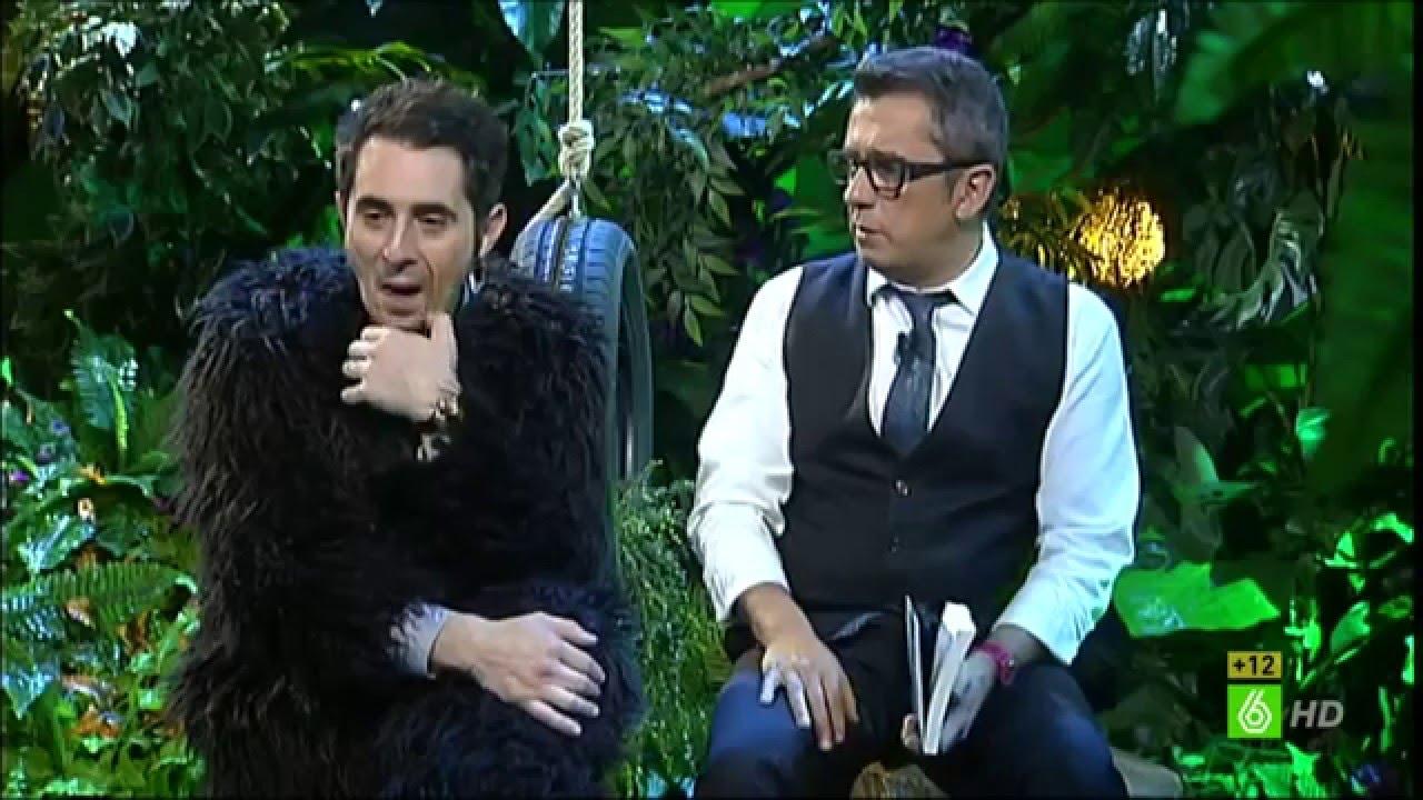 Andreu Buenafuente entrevista a Pablo Herreros Ubalde con motivo del libro Yo, mono