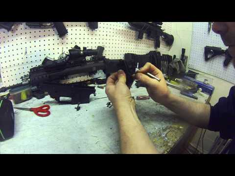 We Scar gbbr trigger group breakdown/assembly