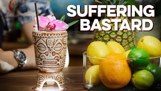 Making a Tiki Drink while WAY Too Hungover | How to Drink