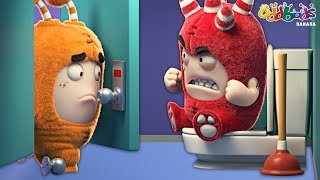 Download Video Oddbods | Pintu Toilet | Kartun Lucu Untuk Anak-Anak MP3 3GP MP4