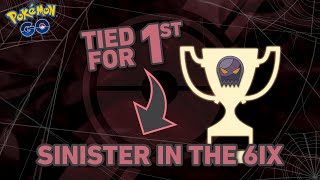 JCHO Ties for 1st in 7 Round Sinister Cup Tournament