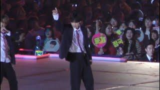 191204 BTS 방탄소년단 We are bullet proof pt.2 V 뷔 Focus (4K) @ MAMA IN JAPAN