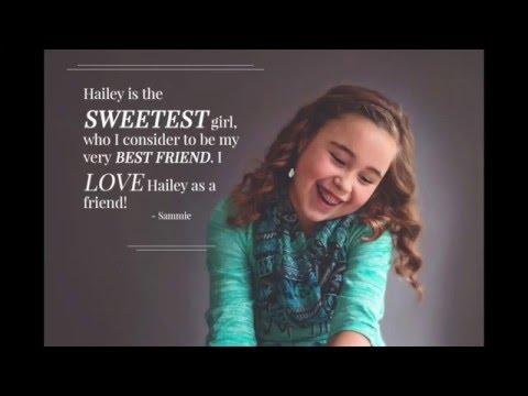 Hailey ~ Tween I Am Project