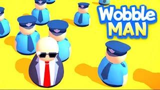 Wobble Man Full Game Walkthrough (150 Levels)