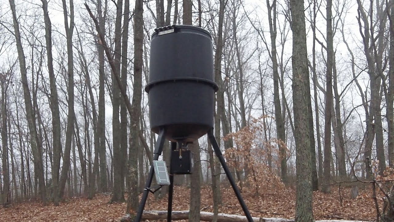 deer whattya tree on wood feeder page hung from in have site timer forums wildlife huntingnet com one know management food plots my forum