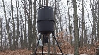 Wildgame Automatic Deer Feeder, Setup And Troubleshooting