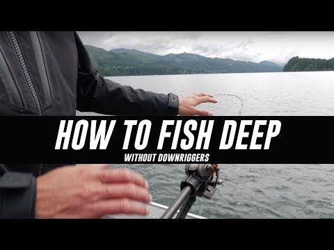 In DEPTH How To Fish For Kokanee & Trout DEEP Without Downriggers.