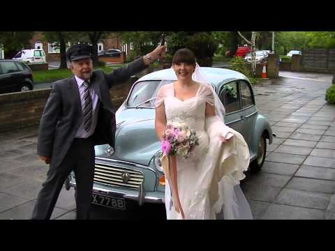 Lea Cars Morris Minor and Mercedes Limousine wedding cars in Congleton Cheshire
