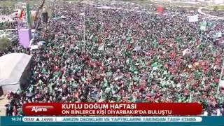 2015 Diyarbakır kutlu doğum etkinliği A Haber