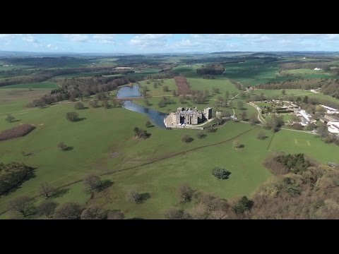 Raby Castle #1 - raw video straight from the Bebop 2