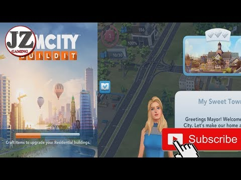 Game Play Sim City New Video Game Upload #1 - JohnyGaming |