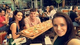 Gaz Beadle on Snapchat | Ft Emma McVey | April 1 2017