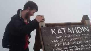 Mt. Katahdin Summit on Tuesday July 24