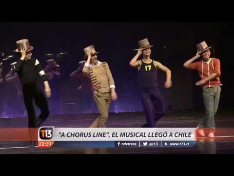 """""""A chorus line"""" el musical llegó a Chile"""