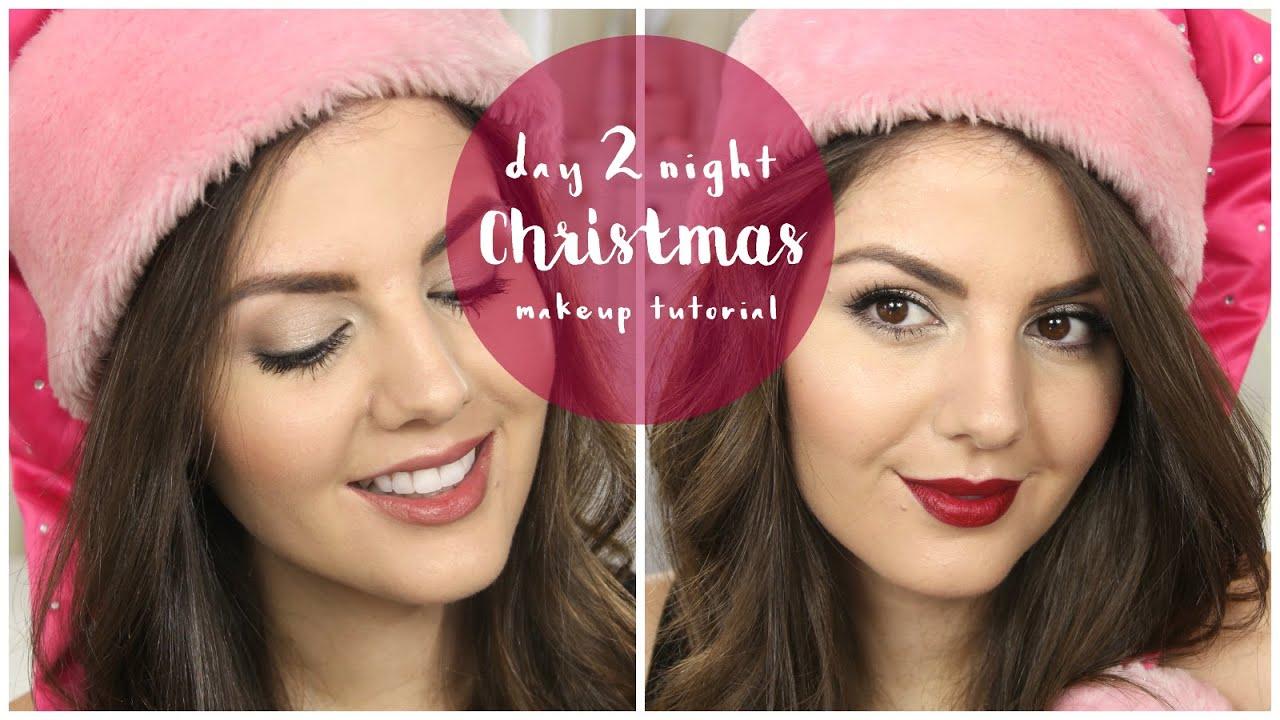 Christmas Makeup Tutorial Day To Night Rachael Jade Youtube Krezi Kamis 26 Bourjois Rouge Edition Velvet Lipstick