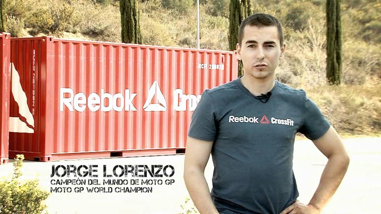 Jorge Lorenzo Reebok CrossFit