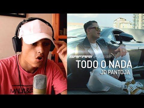 [Reaccion] JD Pantoja - Todo y Nada (Video Oficial) Juan de Dios Pantoja - Themaxready