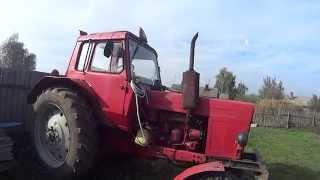 Краткий обзор трактора МТЗ-80 и проба камеры