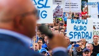 Manifestacja Ruchu w sprawie nowego stadionu (05.09.2019 r.)