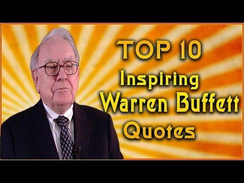 Top 10 Warren Buffett Quotes | Inspirational Quotes