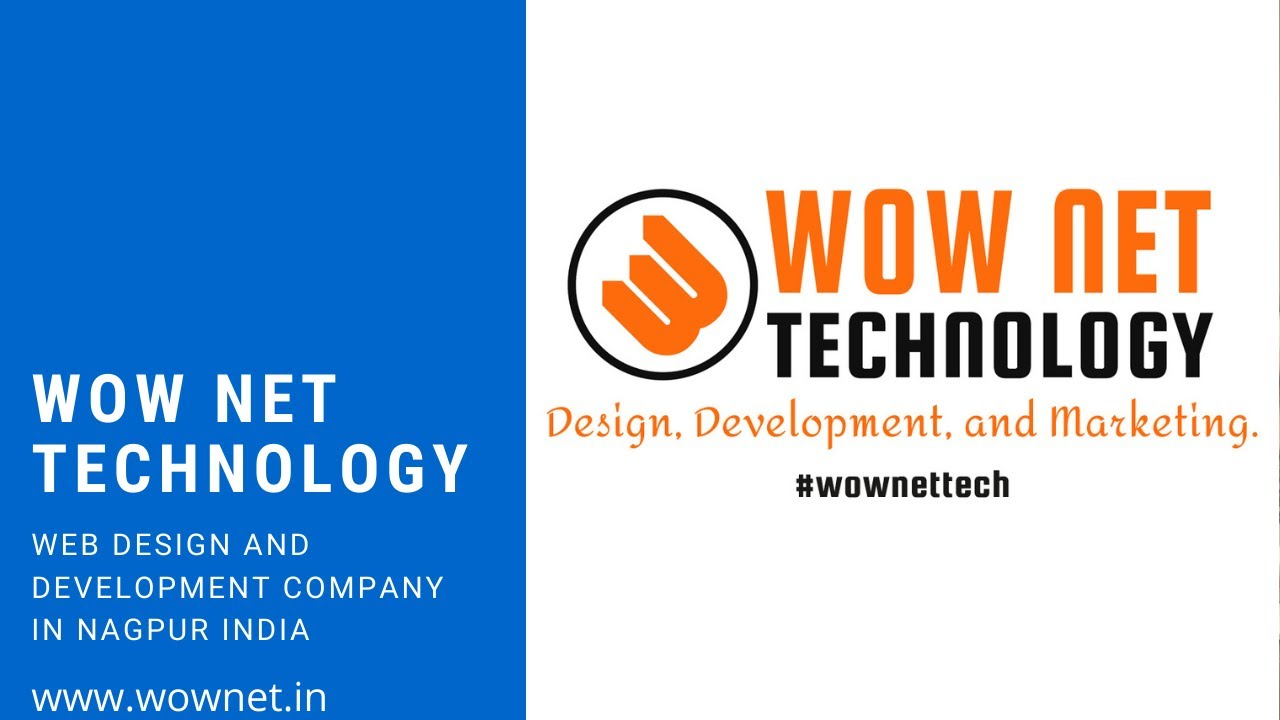 WOW Net Technology : Website design and development company in Nagpur India