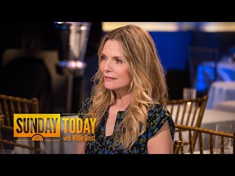 Michelle Pfeiffer On Sexual Harassment Scandals: 'I've Had Situations' | Sunday TODAY