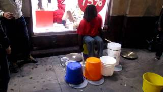 Jo Bucket - New Oxford Street Drum