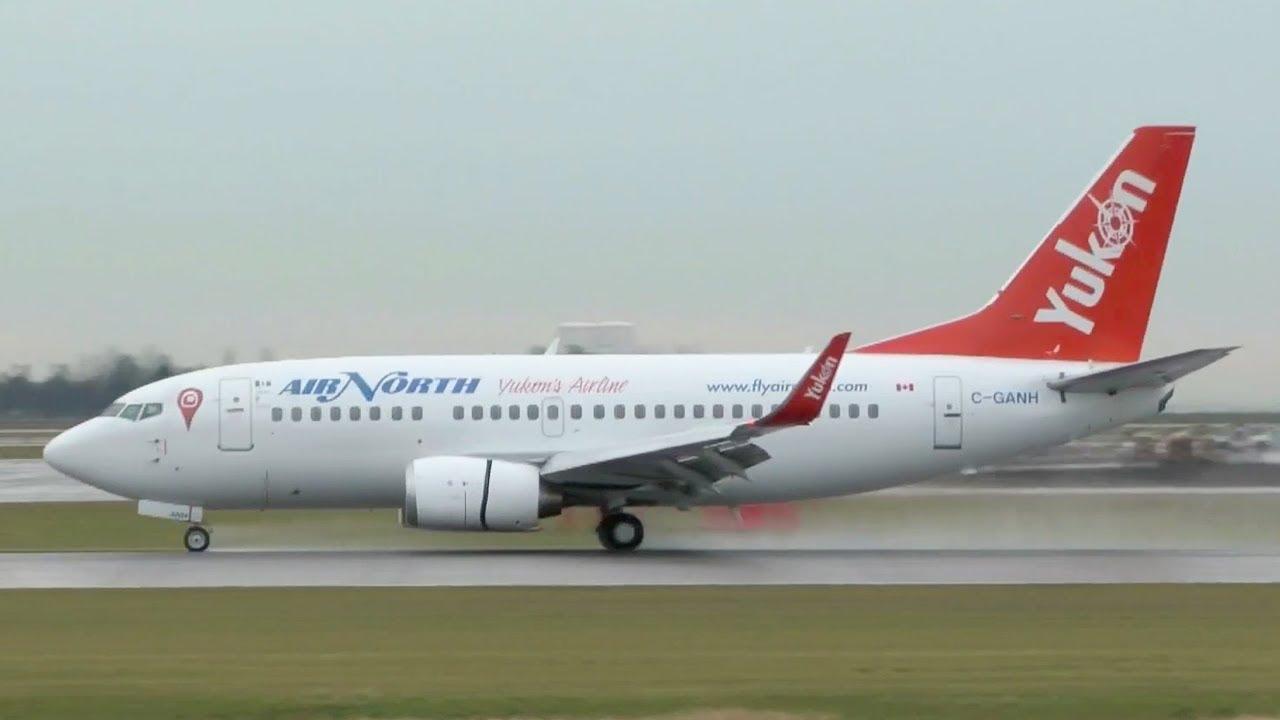 Air North Boeing 737 500 Landing Youtube