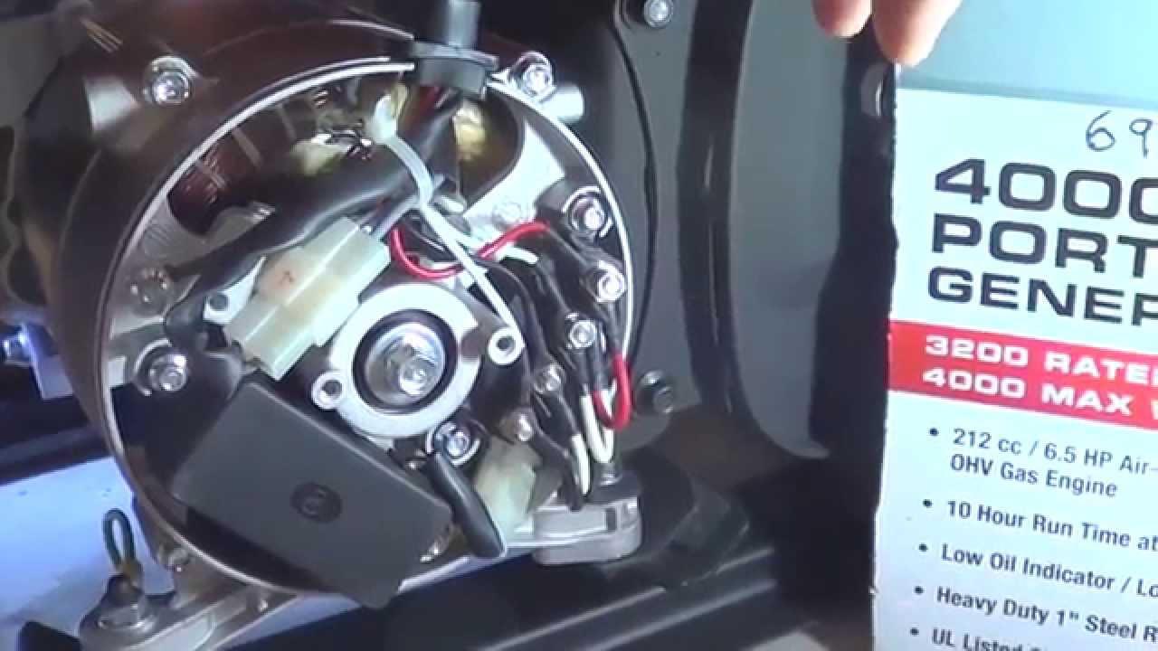 Champion Generator Wiring Diagram 2002 Pontiac Grand Am Headlight 3200 Watt Predator Convert To 120 Volt Only At 26 Amps For Rv Use