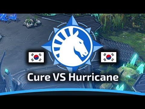 Cure VS Hurricane - TvP - WardiTV Team Liquid Map Contest Tournament 6 - polski komentarz