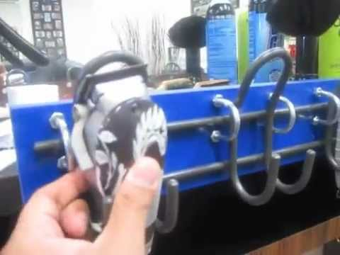 Do it yourself upright clipper holder youtube do it yourself upright clipper holder solutioingenieria Choice Image