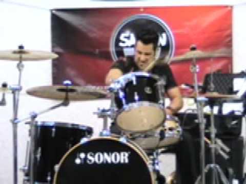 Drummer Rich Redmond performs studio version of Jason Aldean's