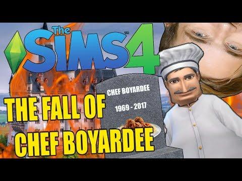 THE FALL OF CHEF BOYARDEE - SIMS 4 FINAL EPISODE