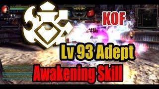 Dragon Nest Kr - KDN PvP KOF Lv 93 Adept #Awakening Skill
