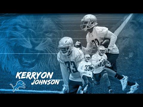 Detroit Lions: The future is now RB Kerryon Johnson