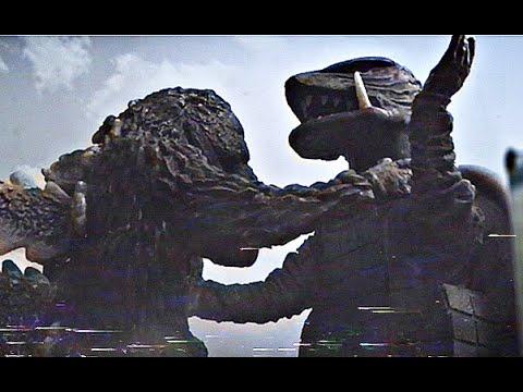 ゴジラ対ガメラ  Godzilla vs Gamera. costume screen test. [Showa era]