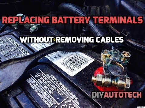 Changing Battery Terminals Without Removing Cables Hd Diyautotech