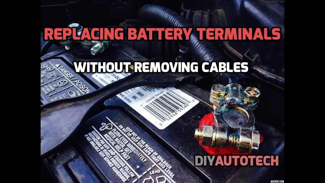 Safely Remove Car Battery
