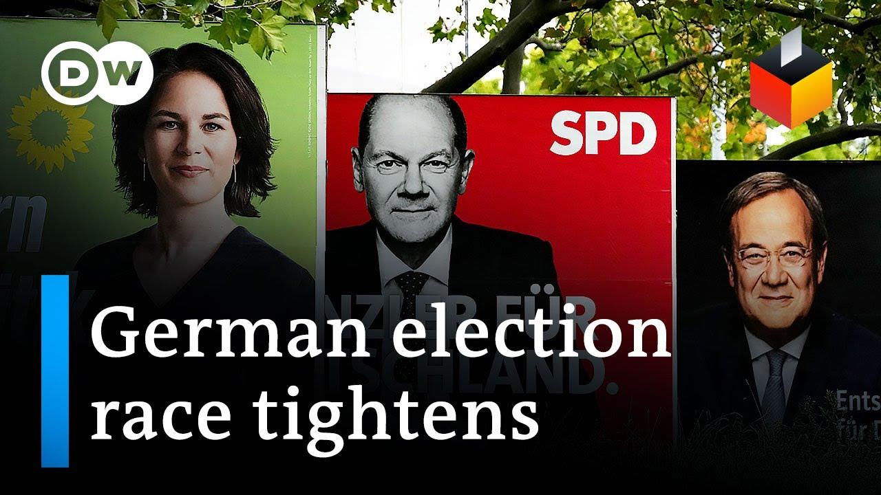 Download German election: Candidates meet in final debate | DW News