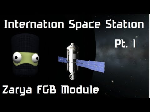 KSP #50 Re-Constructing The International Space Station Pt. 1