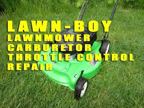 Lawn Boy Lawnmower Carburetor Throttle Control Repair