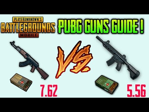 WHICH IS BEST GUN IN PUBG MOBILE !? FULL GUIDE (HINDI) - YouTube