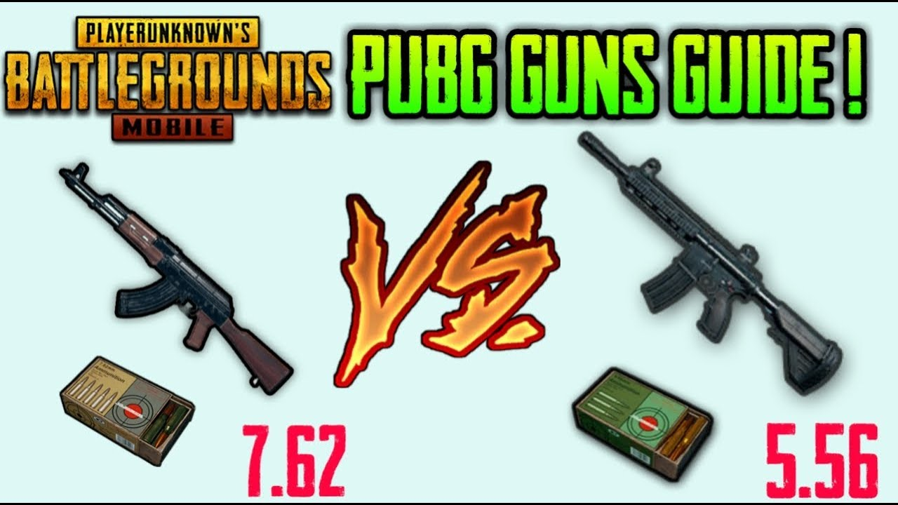 WHICH IS BEST GUN IN PUBG MOBILE !? FULL GUIDE (HINDI)
