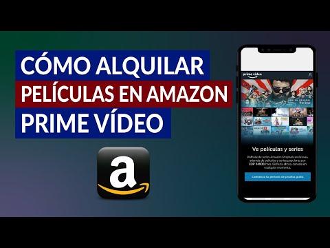 Cómo Alquilar Películas en Amazon Prime Video - Paso a Paso