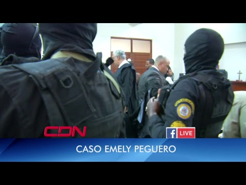 En vivo: Etapa final juicio Emely Peguero