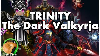 SUMMONERS WAR : Trinity the Dark Valkyrja - Gameplay