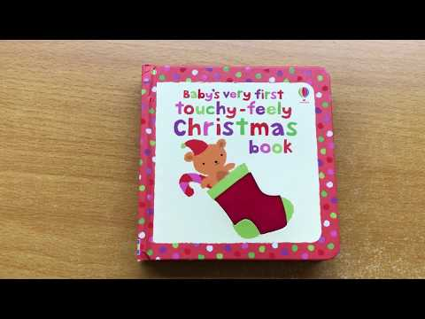 Baby's very first touchy feely Christmas book - Usborne